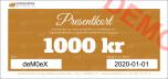 Presentkort 350 kronor