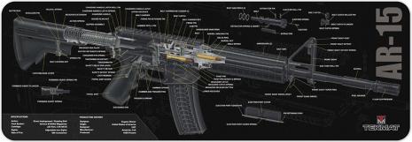 TekMat AR-15 3D genomskärning