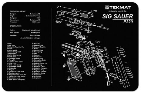 TekMat Sig Sauer P220