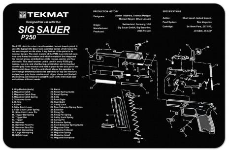 TekMat Sig Sauer P250