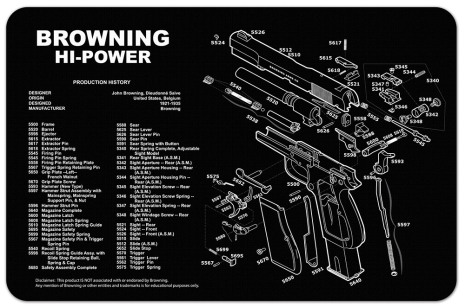 TekMat Browning Hi-Power