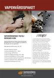 Vapenvårdspaket  Pistol/Revolver 9mm