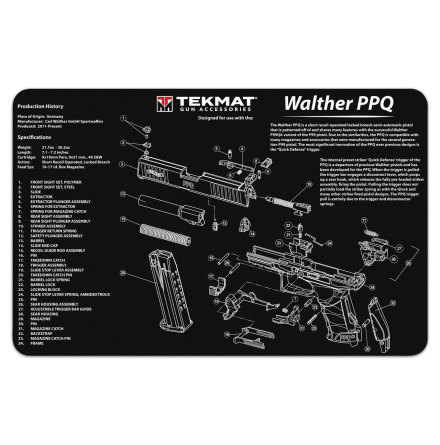 TekMat Walther PPQ