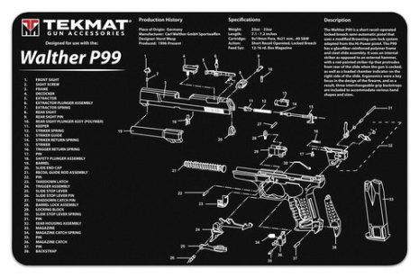 TekMat Walther P99