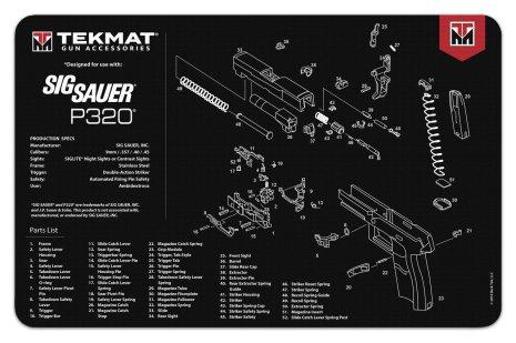 TekMat Sig Sauer P320